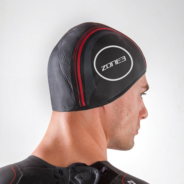 Neoprene Strapless Swim Cap back