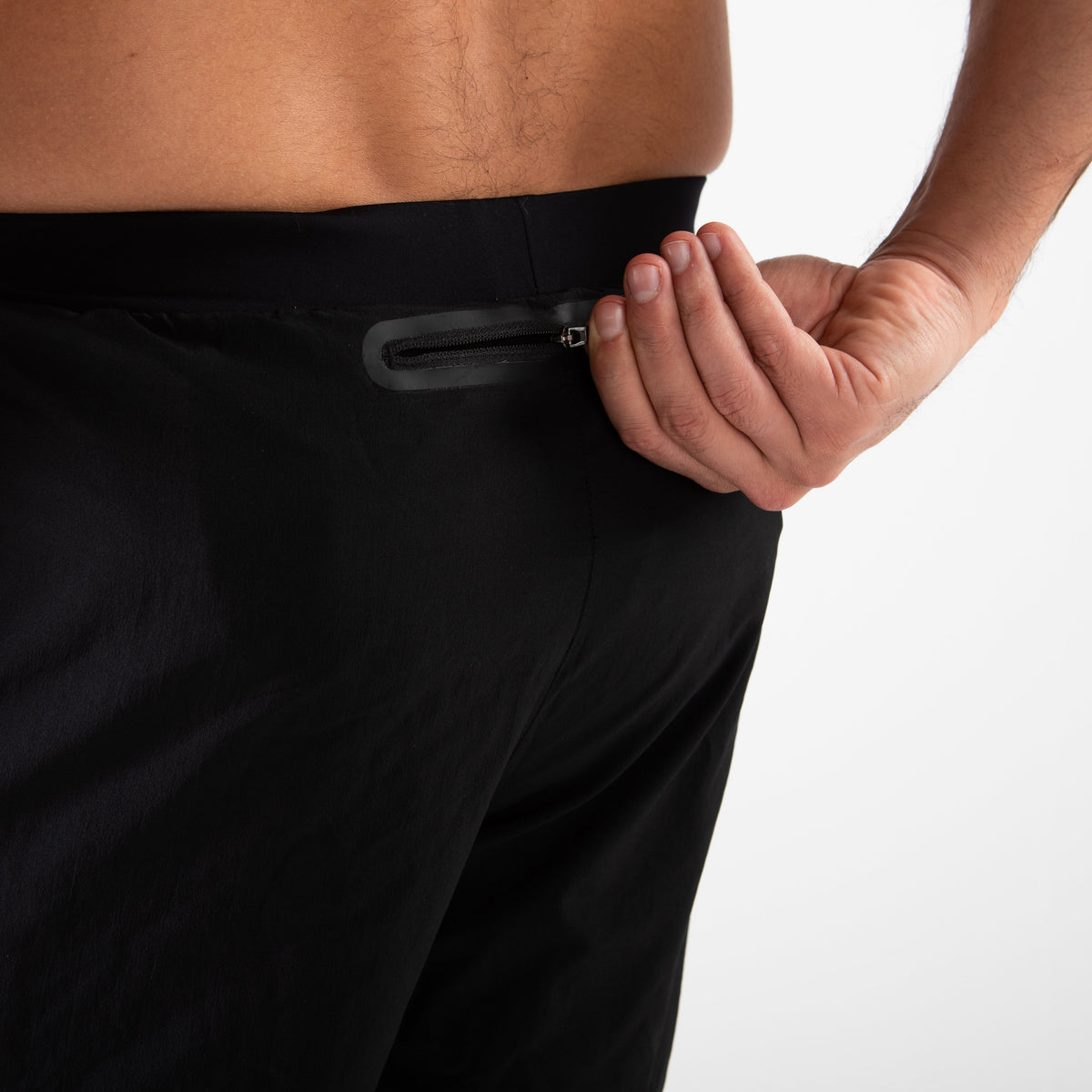 Men's RX3 Medical Grade Compression 2-in-1 Shorts zip