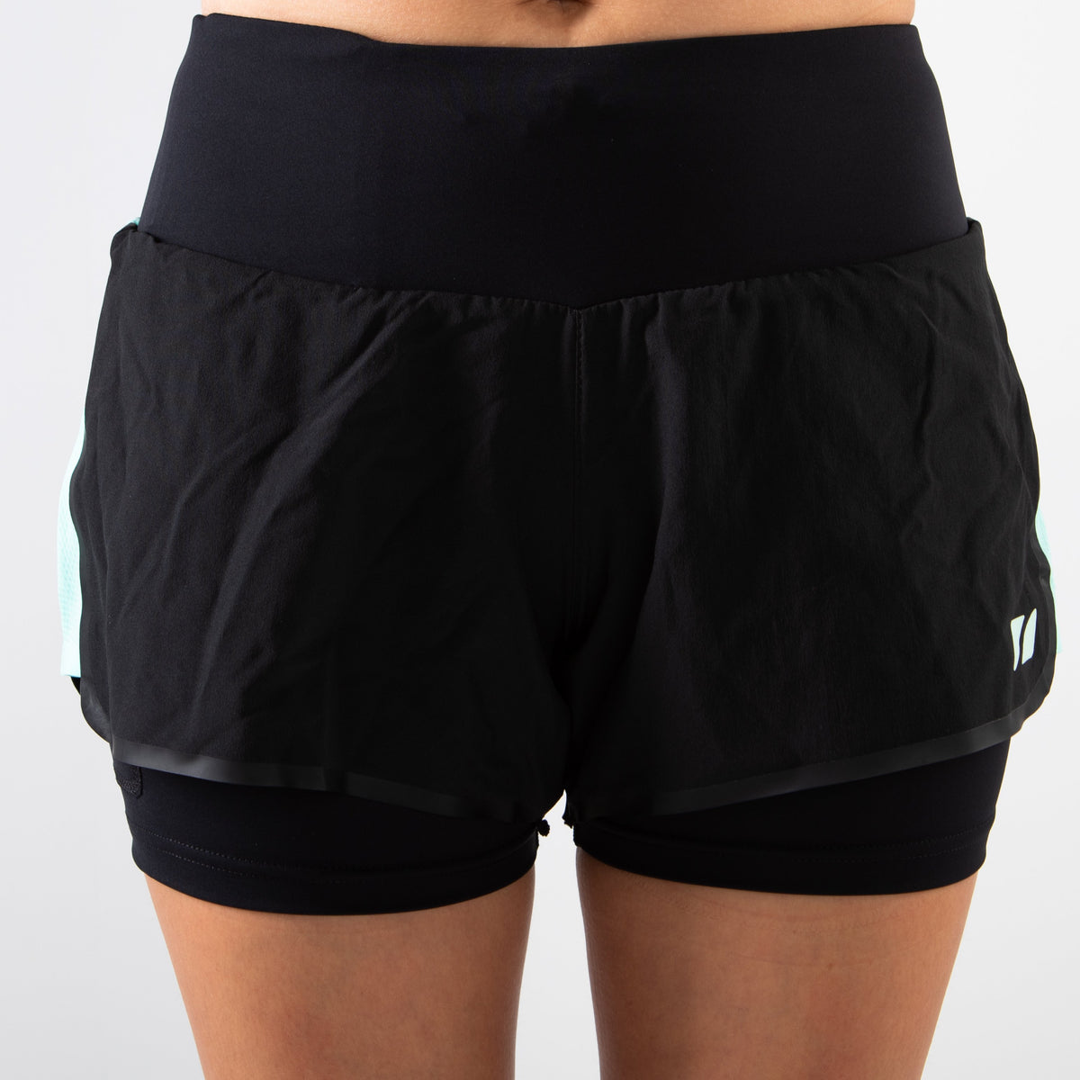 Women's RX3 Medical Grade Compression 2-in-1 Shorts front