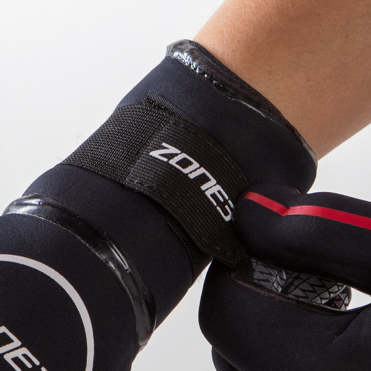 Neoprene Heat-Tech Warmth Swim Gloves wrist