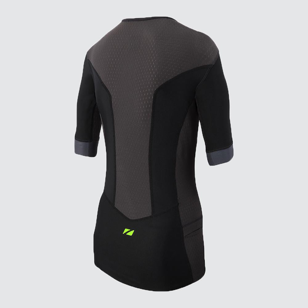 Men's Aquaflo Plus Tri Top Short Sleeve back