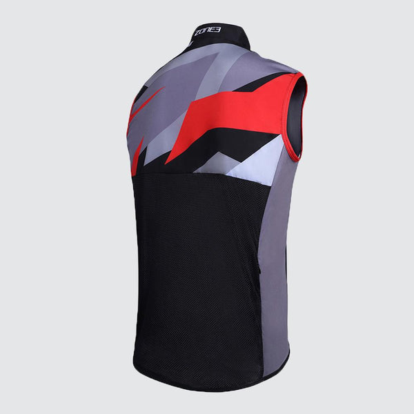 Men's Wind/Shower Proof Cycling Gilet back