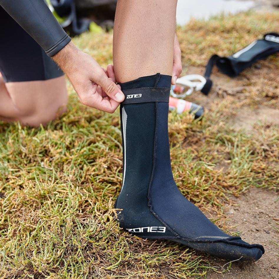 Neoprene Swim Socks side