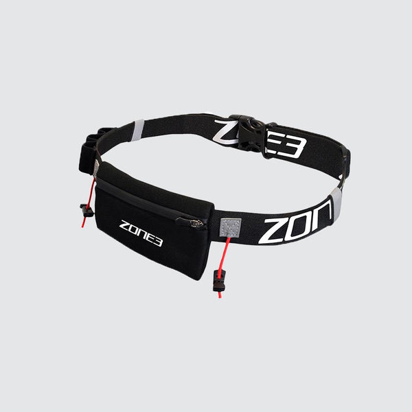 Endurance Number Belt with Neoprene Fuel Pouch and Energy Gel Storage