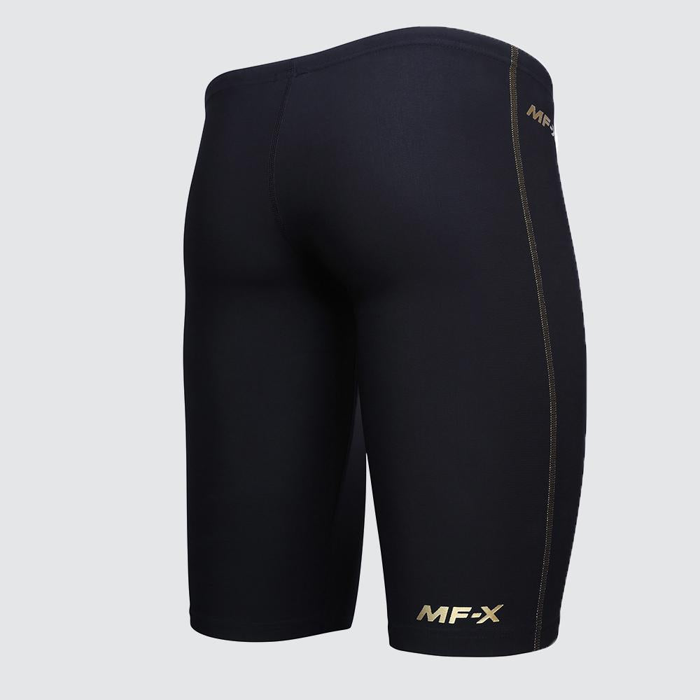 FINA Approved MF-X 'Mark Foster' Men's Jammers - Performance Gold back