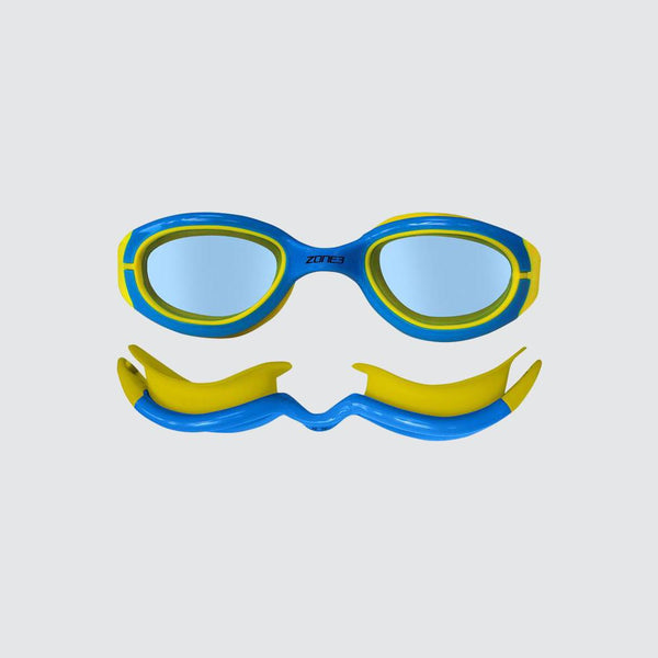 Kids Aquahero Triathlon and Open Water Swimming Goggles side