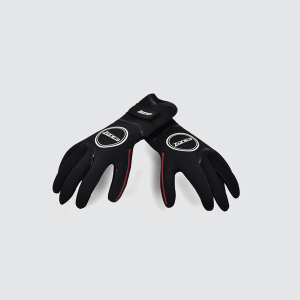 Neoprene Heat-Tech Warmth Swim Gloves back