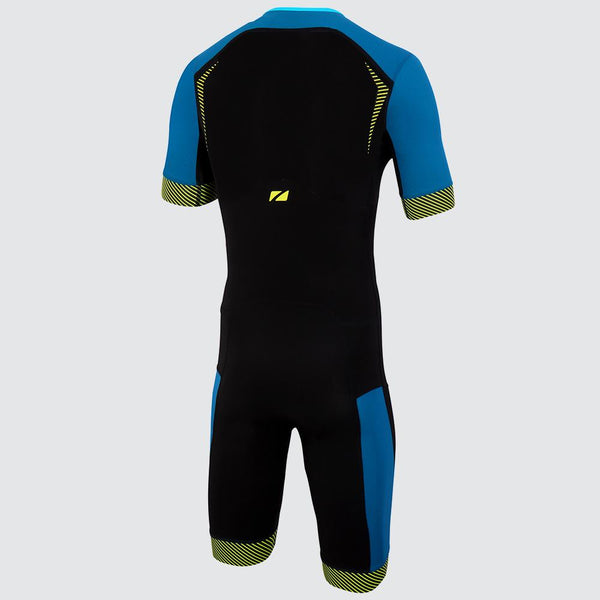 Men's Aeroforce Short Sleeve Nano Trisuit back