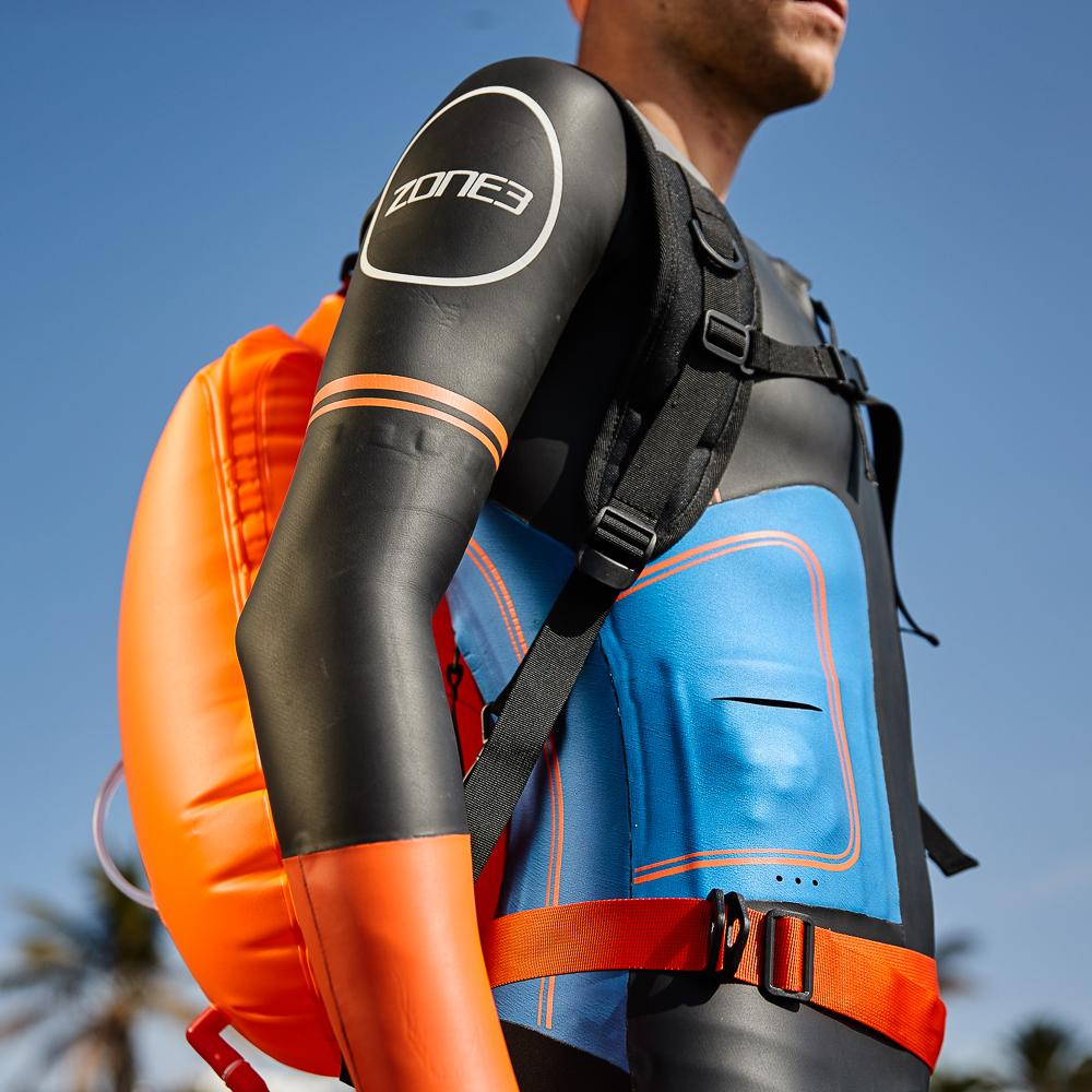Swim Run Backpack Dry Bag Buoy 28L pose
