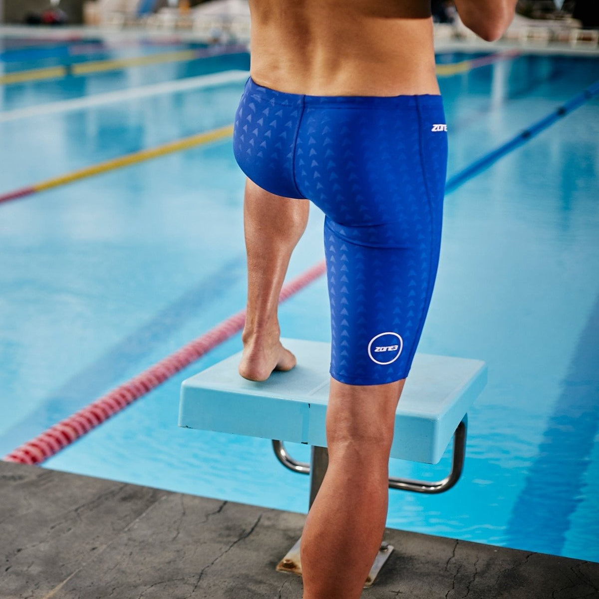 FINA Approved Men's Jammers - Performance Speed board