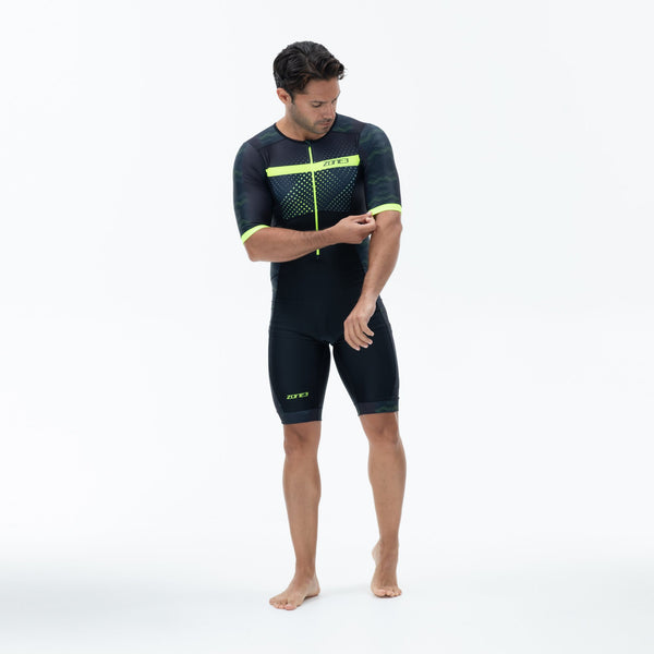 Men's Activate Plus Short Sleeve Trisuit