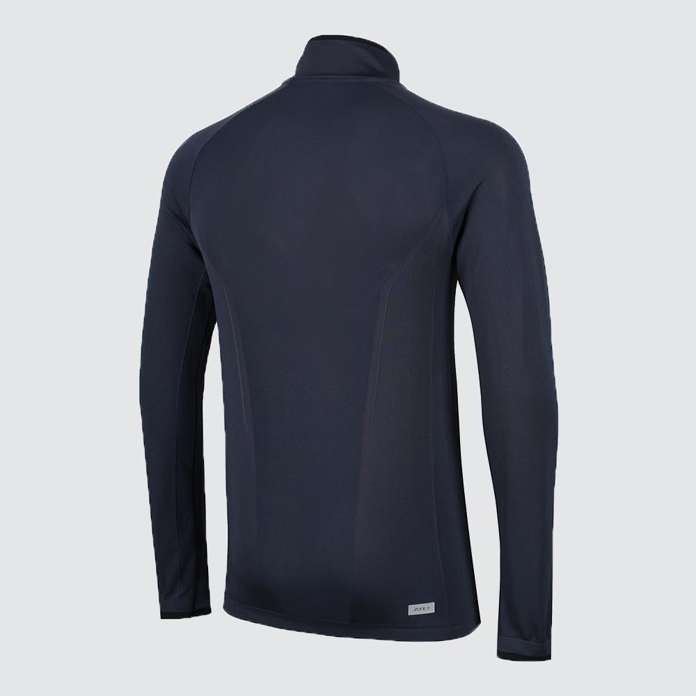 Men's Performance Culture Long Sleeve Mid Layer with 1/4 length Zip back