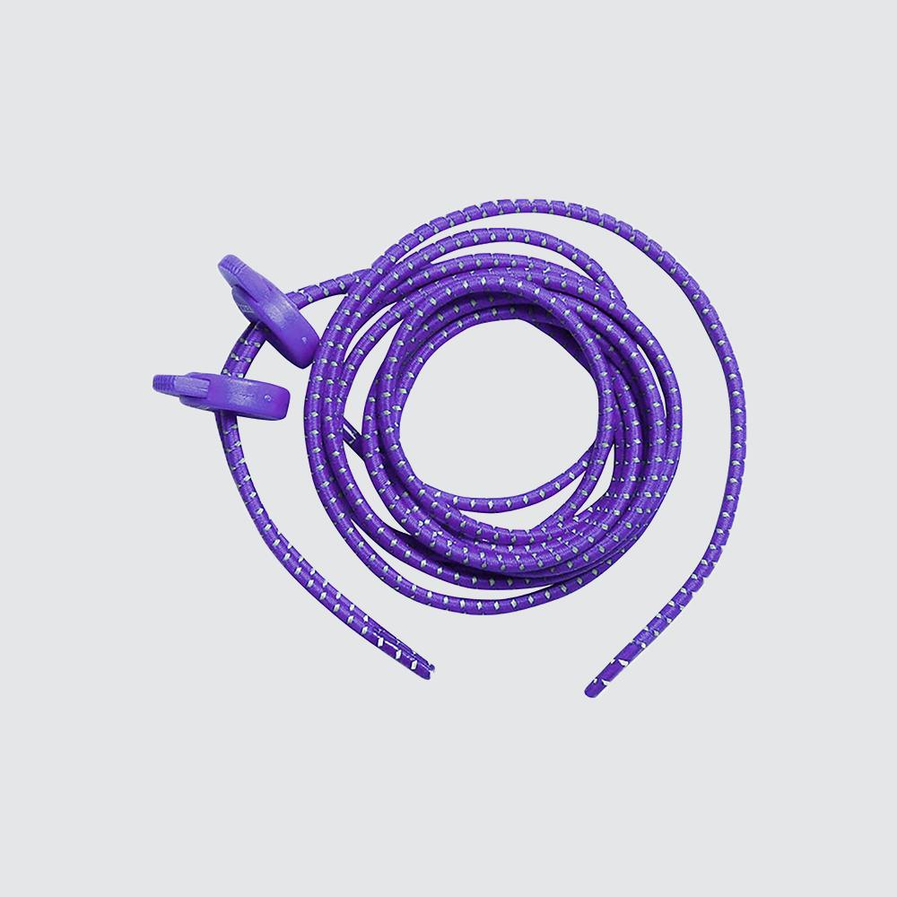 Elastic Shoe Laces for Fast Transitions purple