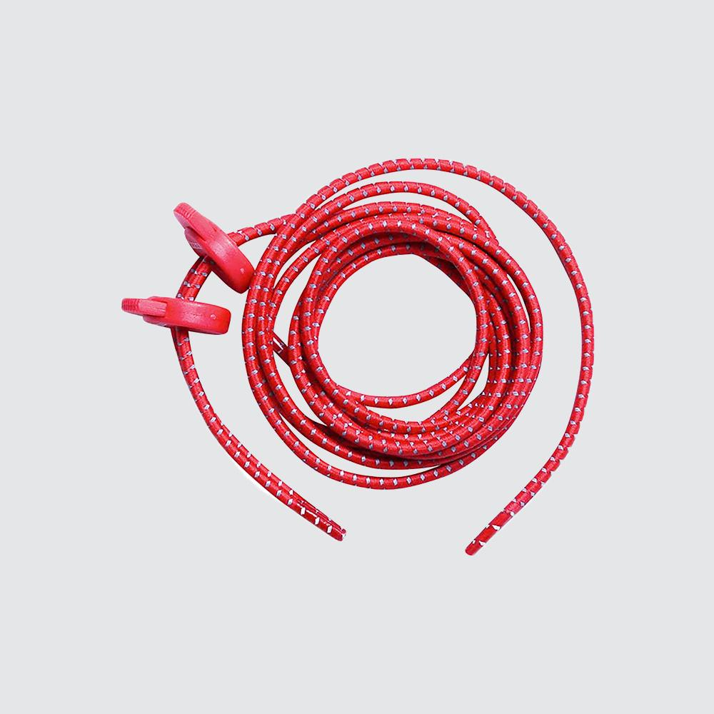 Elastic Shoe Laces for Fast Transitions red