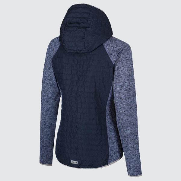 Women's Hybrid Puffa Quilted Jacket back