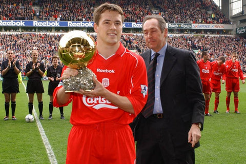 Michael Owen Liverpool FC Ballon d'Or anniversaire foot décembre