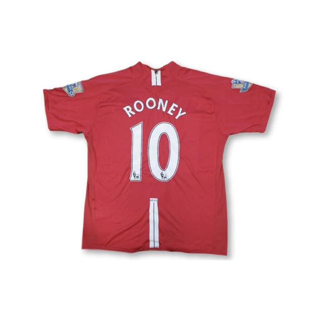 Maillot de football vintage Manchester United N°10 ROONEY 2006-2007 - Nike - Manchester United