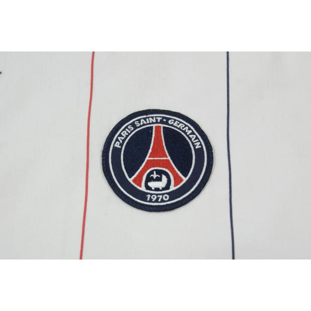 Maillot de football vintage Paris Saint-Germain PSG N°10 DHORASOO 2006-2007 - Nike - Paris Saint-Germain