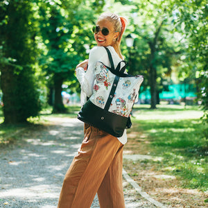 Daypack Ruksak Frida Edition White