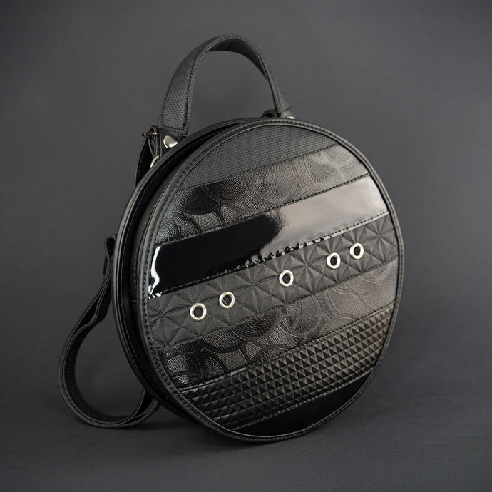 3WAY Circular Bag Noir