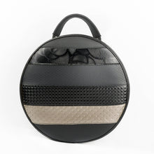 Load image into Gallery viewer, 3WAY Circular Bag Quilted Diamond
