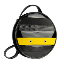 Load image into Gallery viewer, 3WAY Circular Bag Vinyl Bumblebee