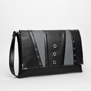 Clutch Torba Black & Gray