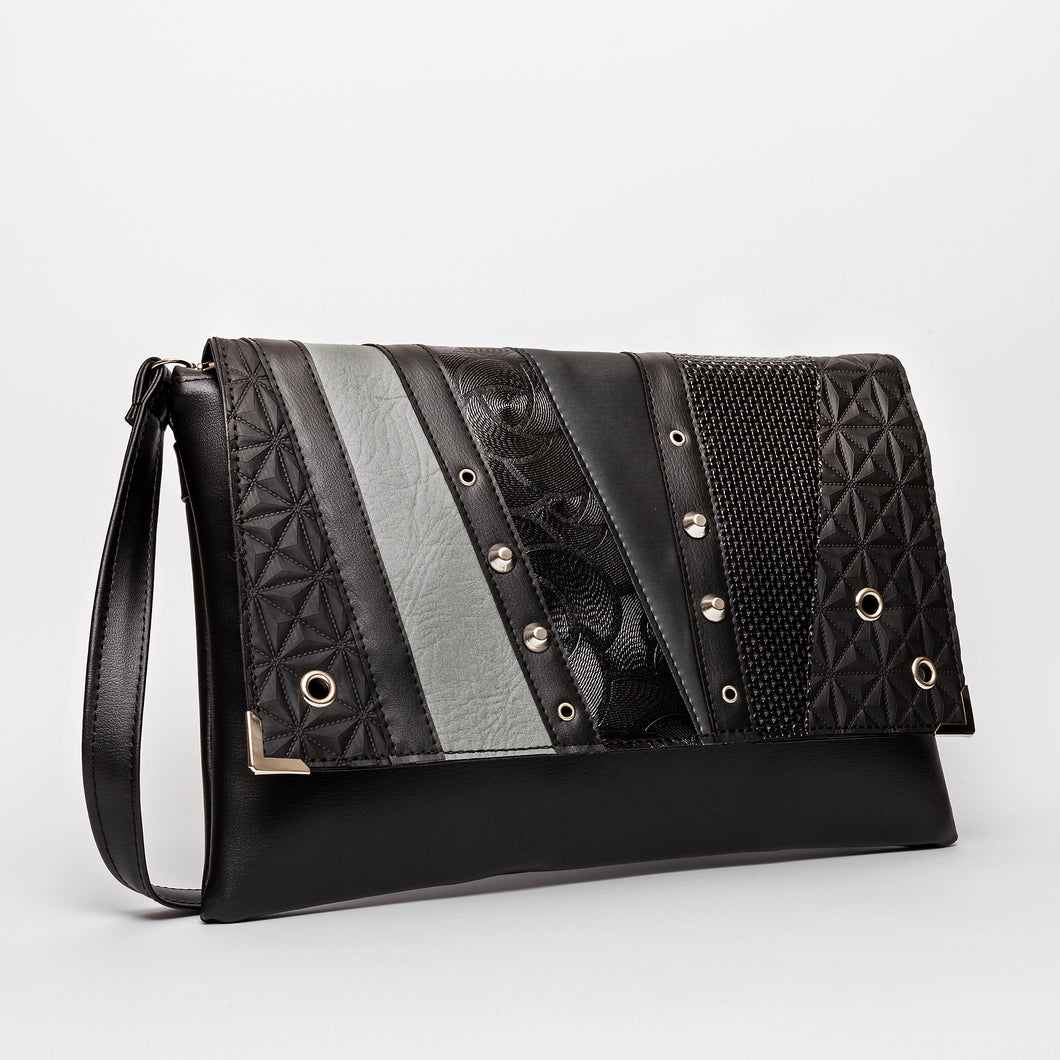 Clutch Torba Pattern Monochrome