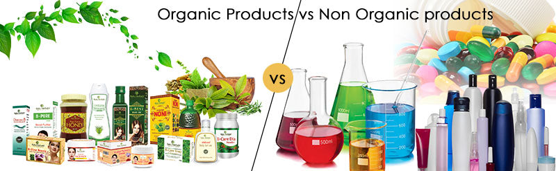 Benefits of Organic products v/s Non-Organic products