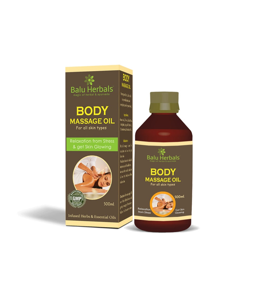 Body Massage Oil - Balu Herbals