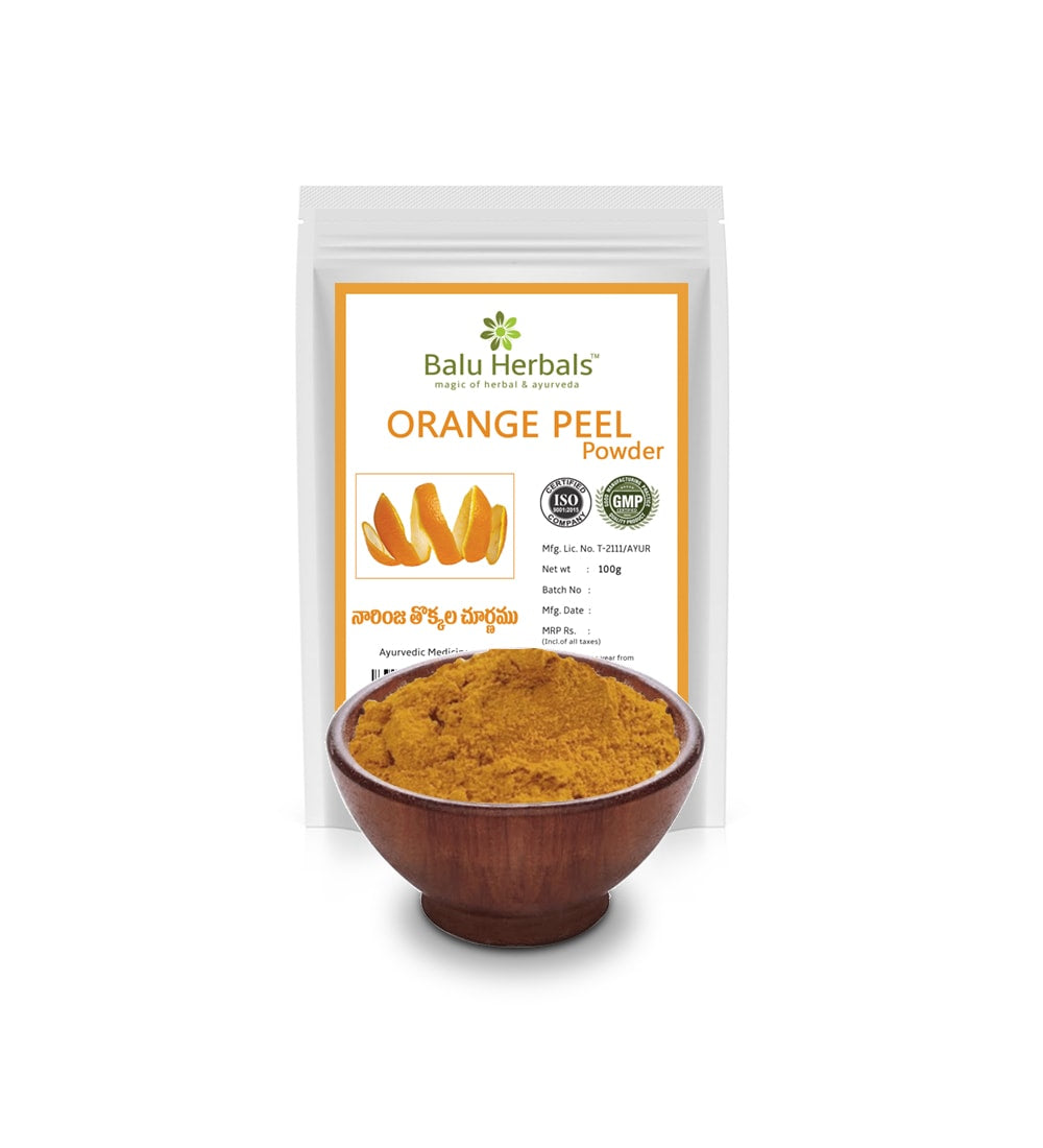 Orange Pel Powder - Balu Herbals