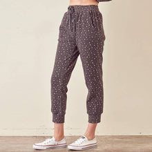 Load image into Gallery viewer, METALLIC STAR JOGGER PANTS