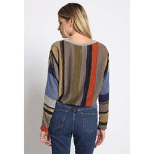 Load image into Gallery viewer, HENRIETTA ALL OVER STRIPE SWEATER