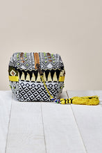Load image into Gallery viewer, AZTEC PATTERNED ORIGAMI MINI BAG