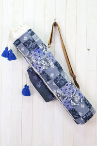 ALL OVER PATCHWORK YOGA MAT BAG
