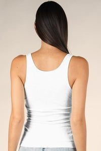 LUCY RIBBED TANK TOP