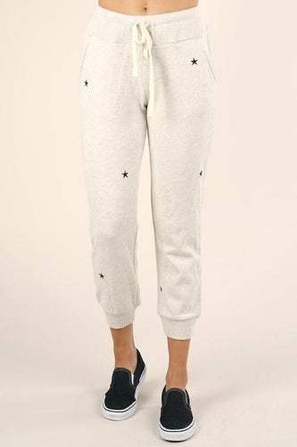 STAR EMBROIDERED JOGGER