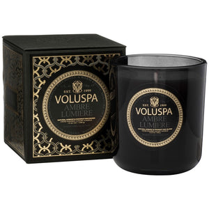 VOLUSPA / AMBRE LUMIERE MAISON CANDLE / 12 OZ