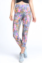 Load image into Gallery viewer, HIGHWAIST PSYCHEDELIC PAINT SPLATTER LEGGINGS