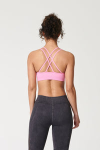 MEDITATE CROSS-BACK SPORTS BRA