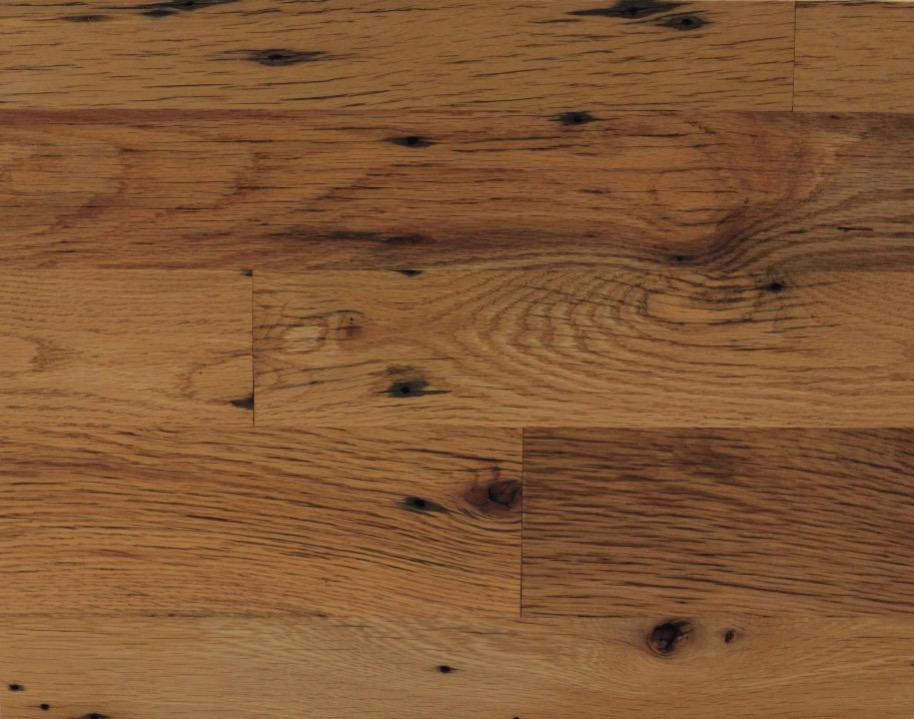 Clean faced reclaimed oak flooring