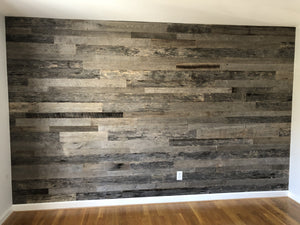 Silver Grey Reclaimed Wall Paneling