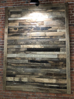 Pre-Finished Reclaimed Wall Board Brown