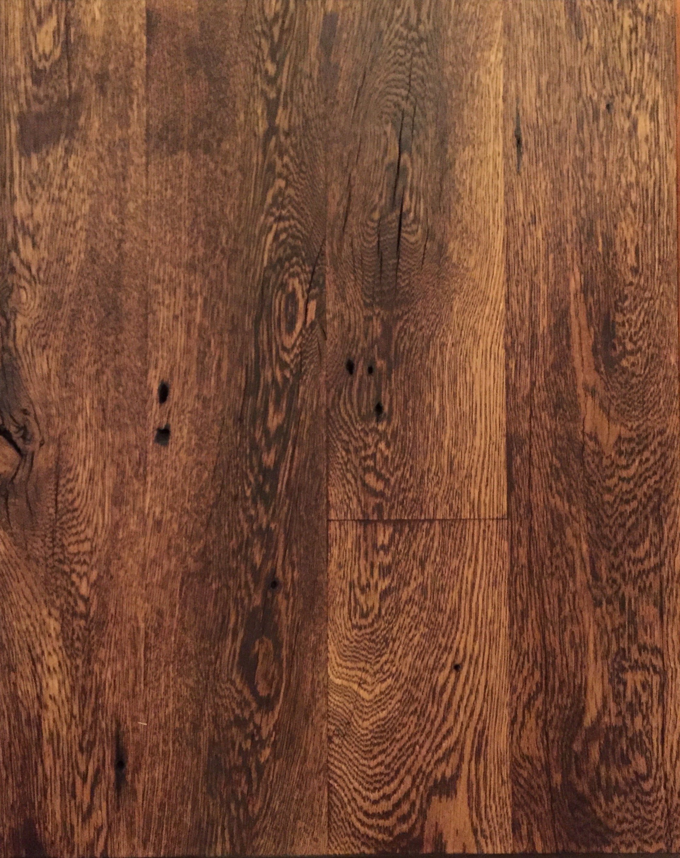 Clean faced reclaimed wood floors