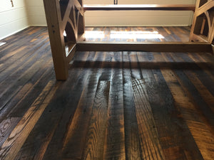 Reclaimed Wood Oak Flooring