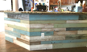 Reclaimed Wall Board Coastal Collection