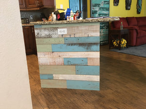 Coastal Collection Colors Reclaimed Wall Board