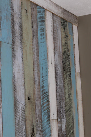 Coastal Collection Reclaimed Wall Board Accent Wall