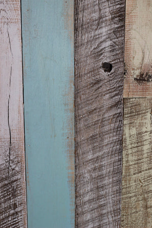 Reclaimed Wall Board Coastal Collection / Beach House close up