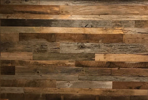 Reclaimed Wall Board Grey / Brown Mix